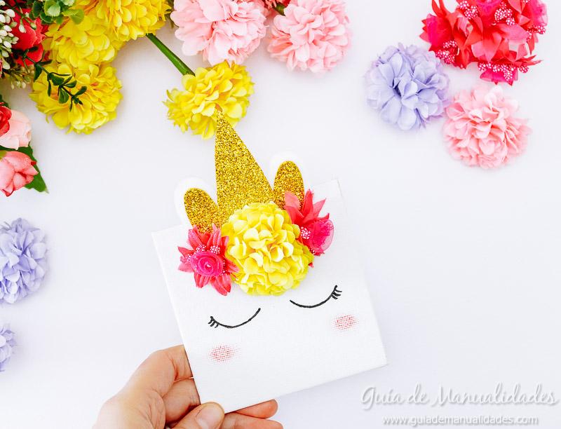 cuadro mini unicornio 14
