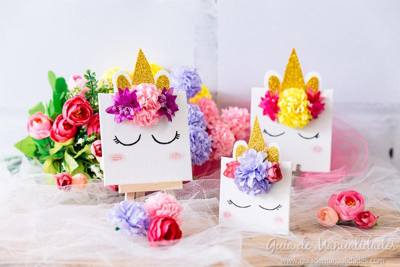 cuadro mini unicornio 16