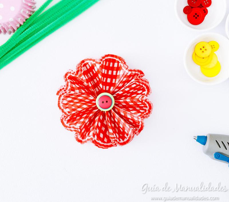 flores con moldes para cupcakes 18
