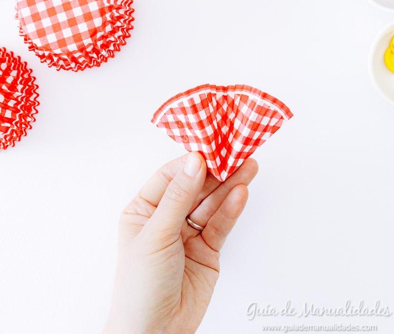 flores con moldes para cupcakes 8