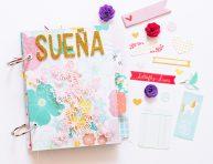 imagen Mini álbum «Sueña» con TAB Punch Board