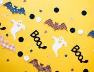 imagen Halloween: guirnaldas para hacer en minutos