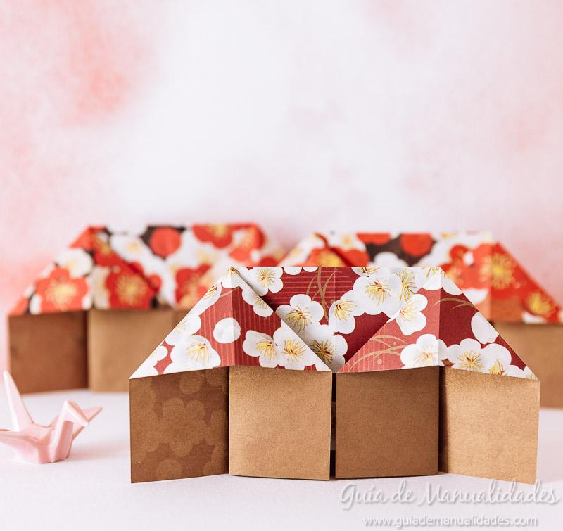 Casitas Japonesas De Origami Guia De Manualidades