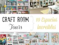imagen Craft room tours: 10 espacios increíbles