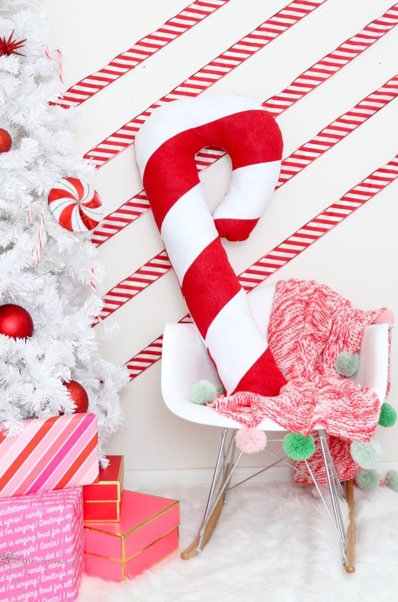 Bastones de caramelo navideños 1