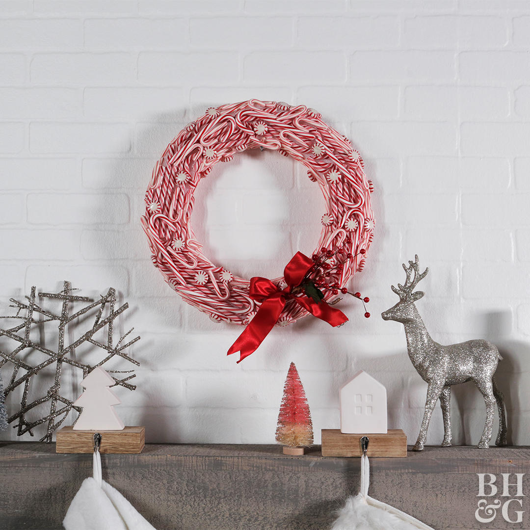 Bastones de caramelo navideños 4