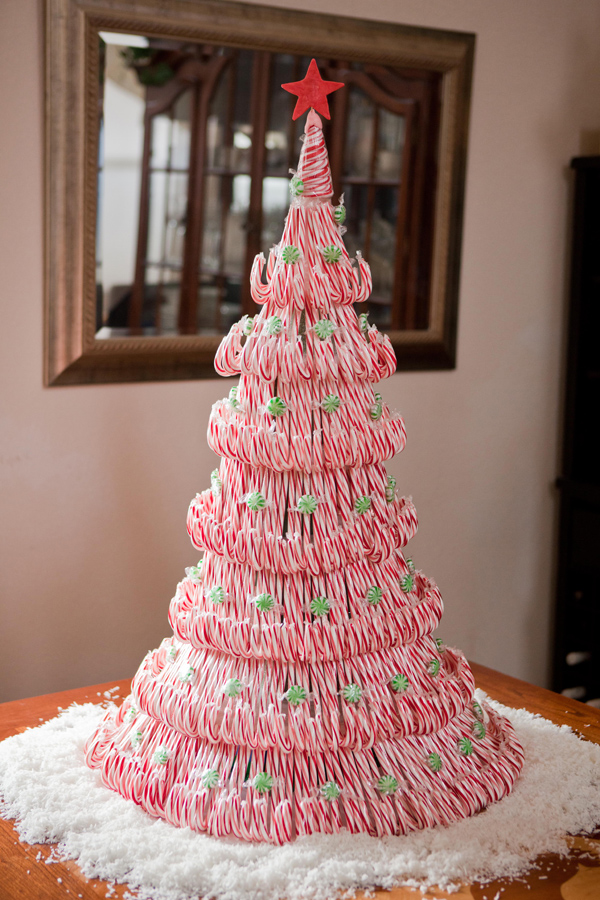 Bastones de caramelo navideños 5