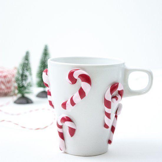 Bastones de caramelo navideños 6