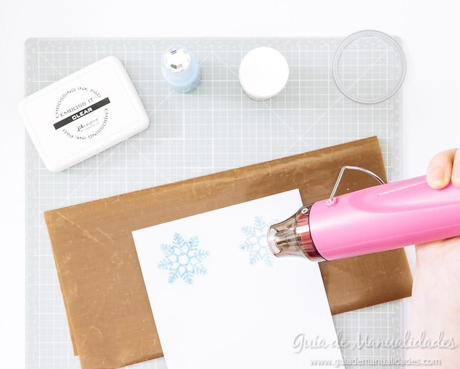 Adornos navideños copos de nieve 7