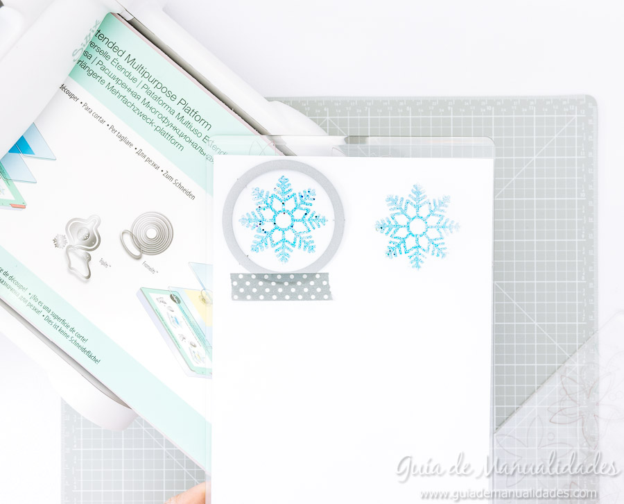 Adornos navideños copos de nieve 8