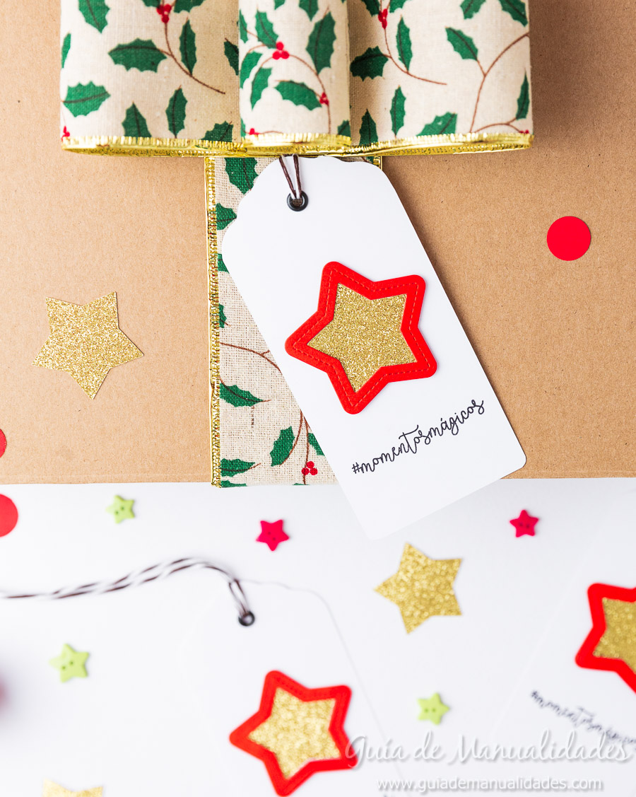 Tags navideñas DIY 1