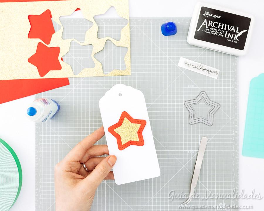 Tags navideñas DIY 10