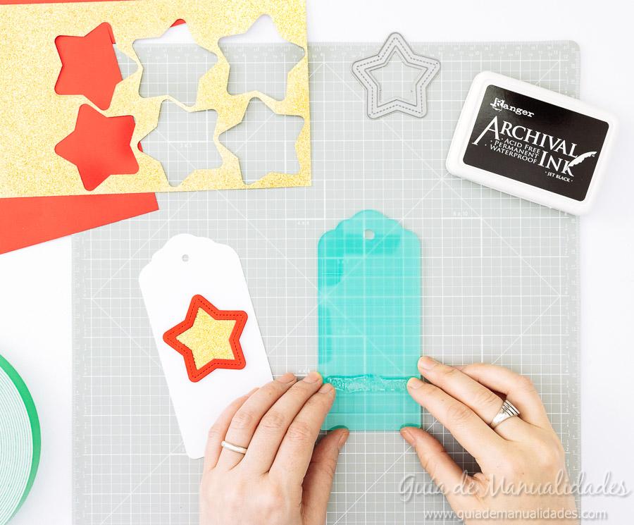 Tags navideñas DIY 11