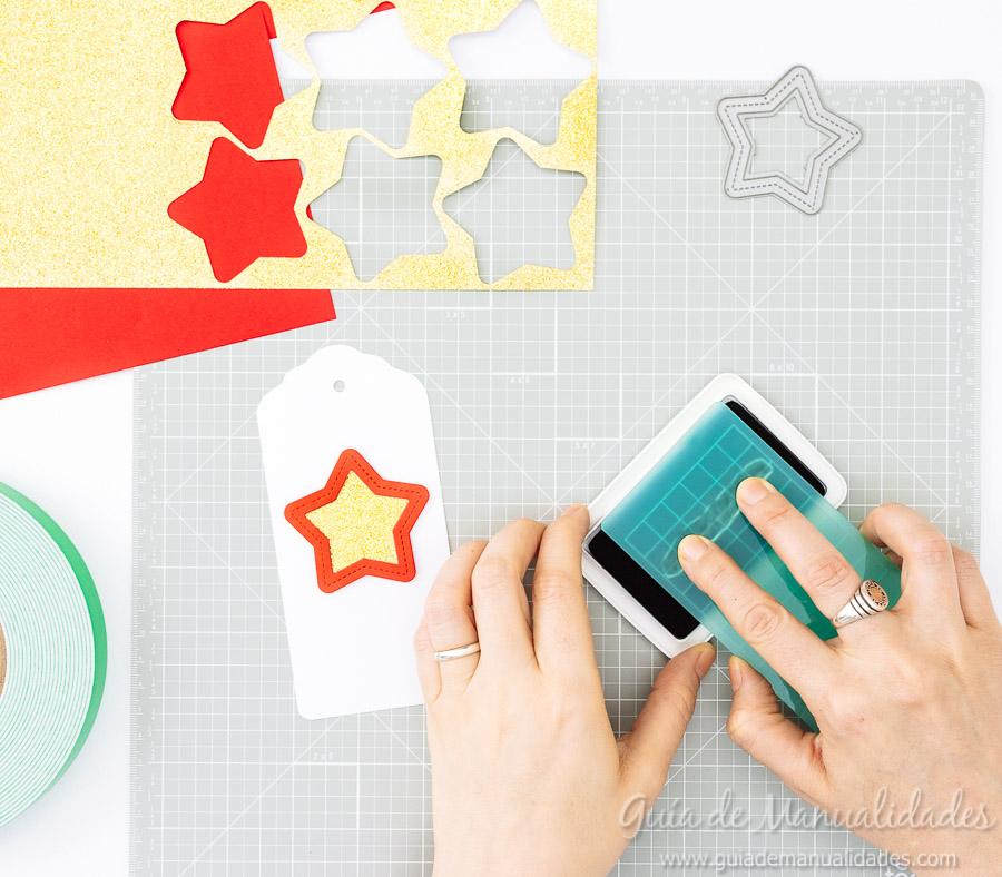 Tags navideñas DIY 12