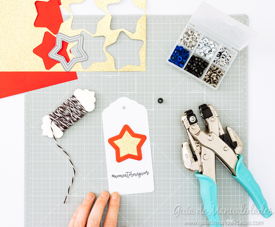 Tags navideñas DIY 14