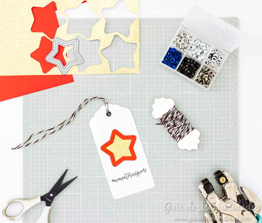 Tags navideñas DIY 15