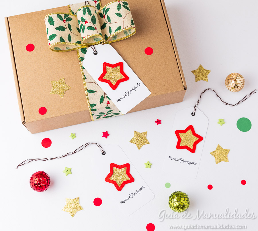 Tags navideñas DIY 16