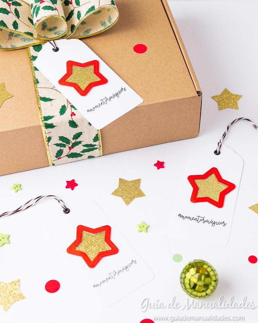 Tags navideñas DIY 17