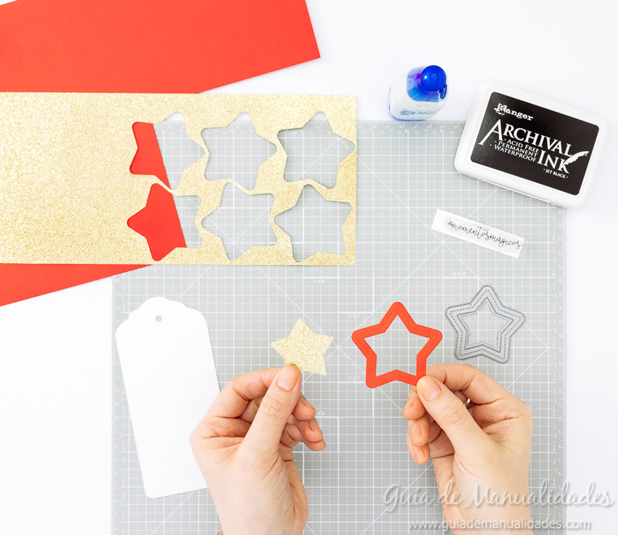 Tags navideñas DIY 7