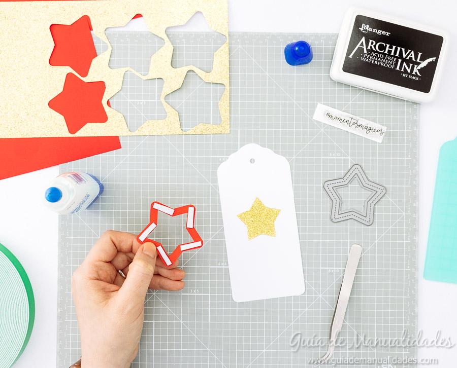 Tags navideñas DIY 9