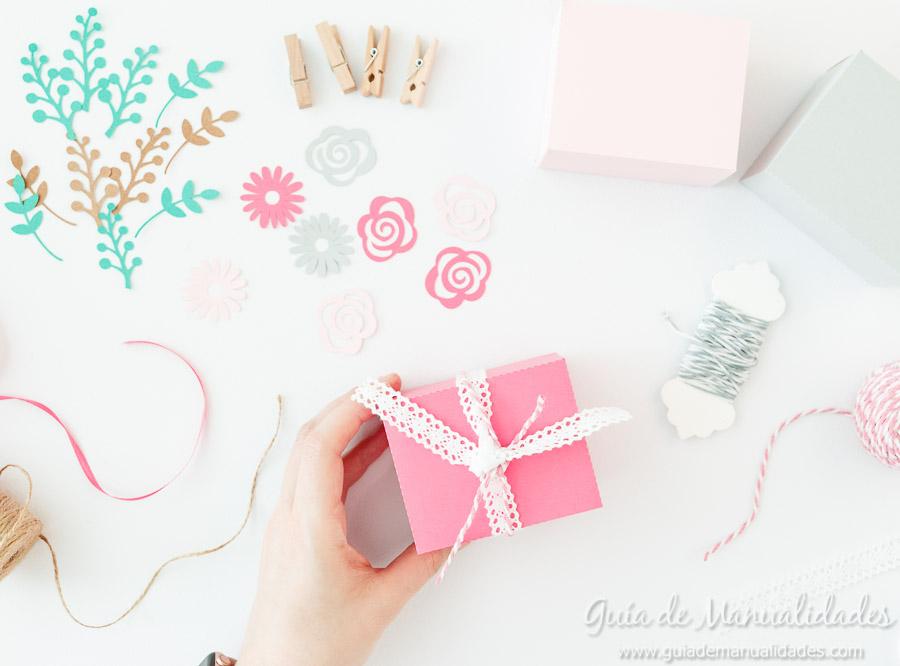 Cajitas románticas para regalos y sorpresas10