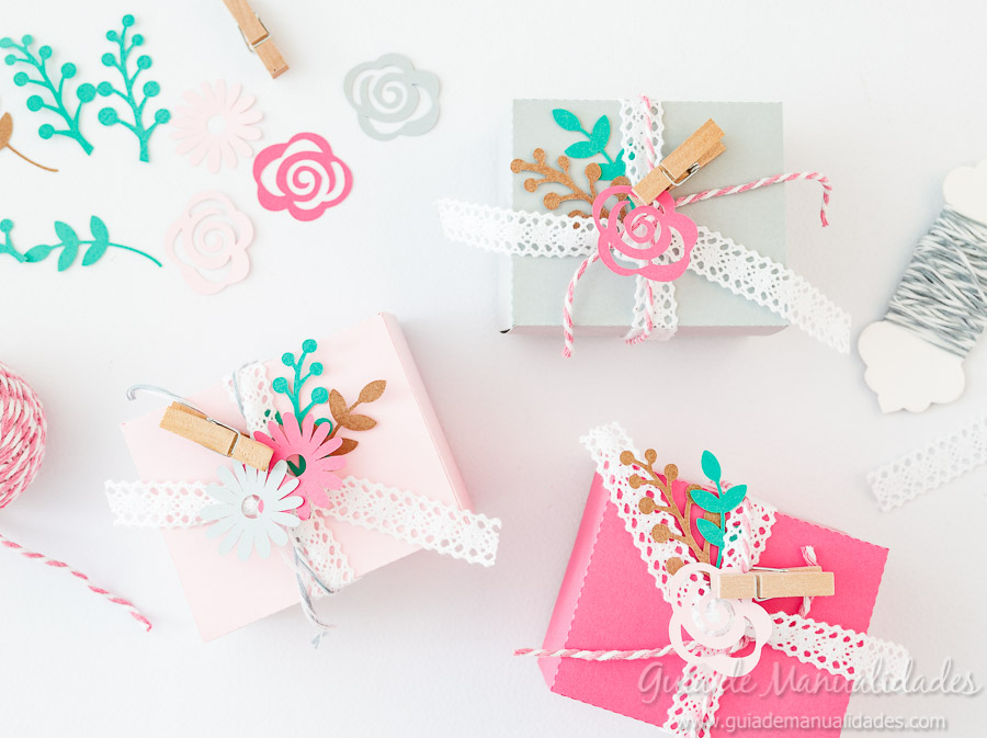 Cajitas románticas para regalos y sorpresas12