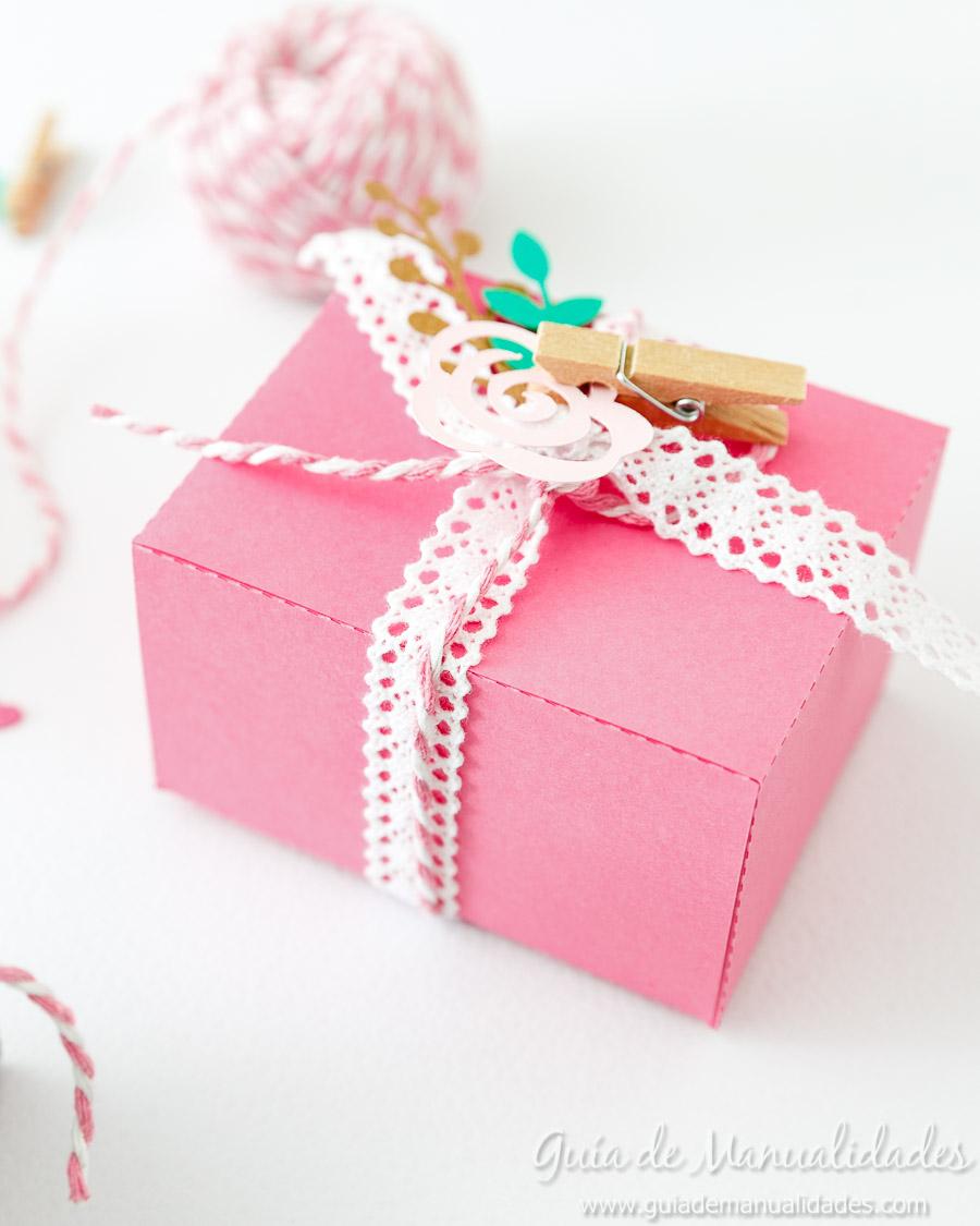 Cajitas románticas para regalos y sorpresas14