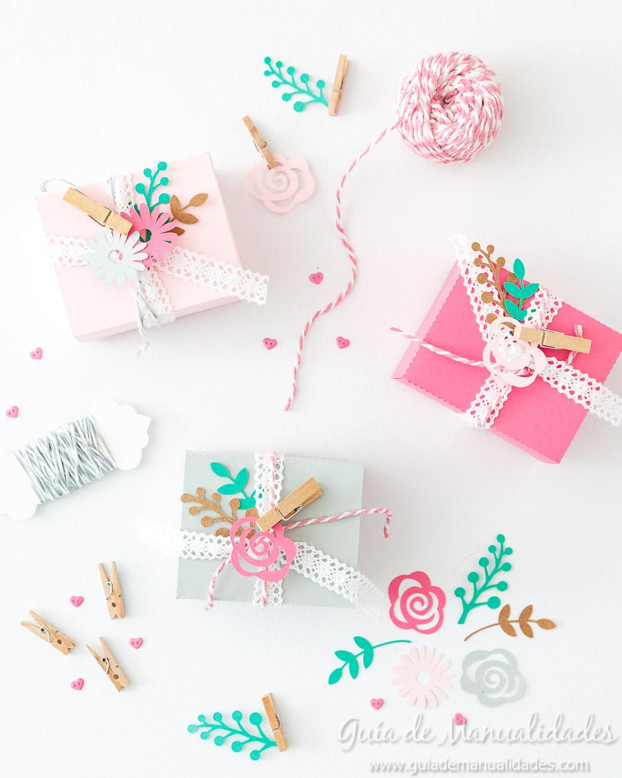 Cajitas románticas para regalos y sorpresas16