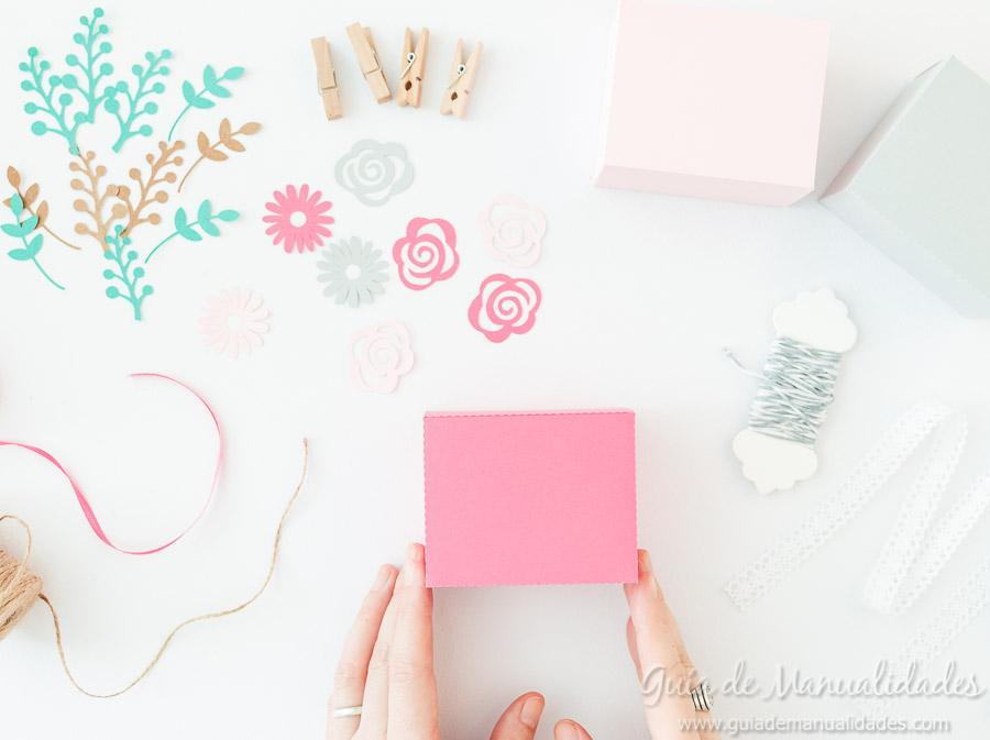 Cajitas románticas para regalos y sorpresas9