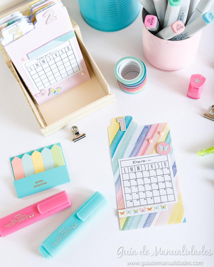 Organizador semanal DIY 1