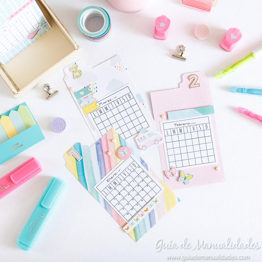 Organizador semanal DIY 10