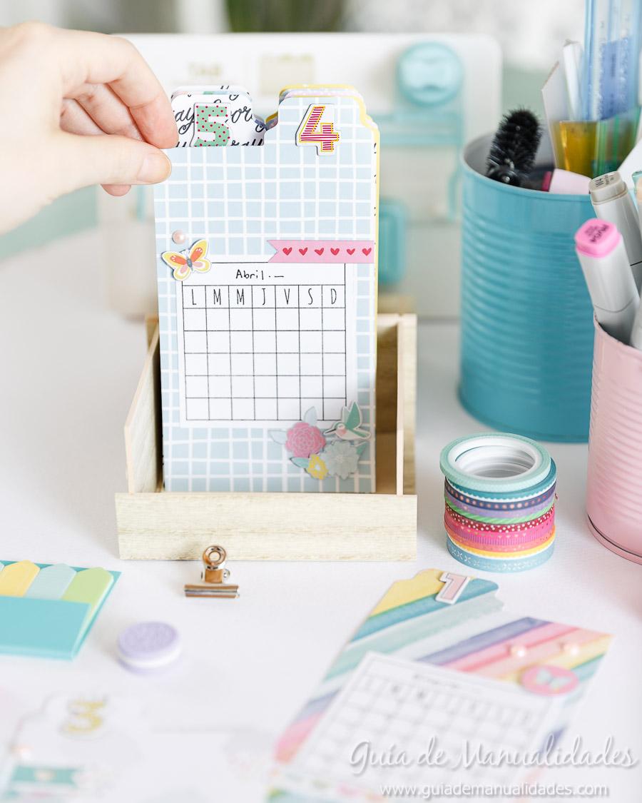 Organizador semanal DIY 11