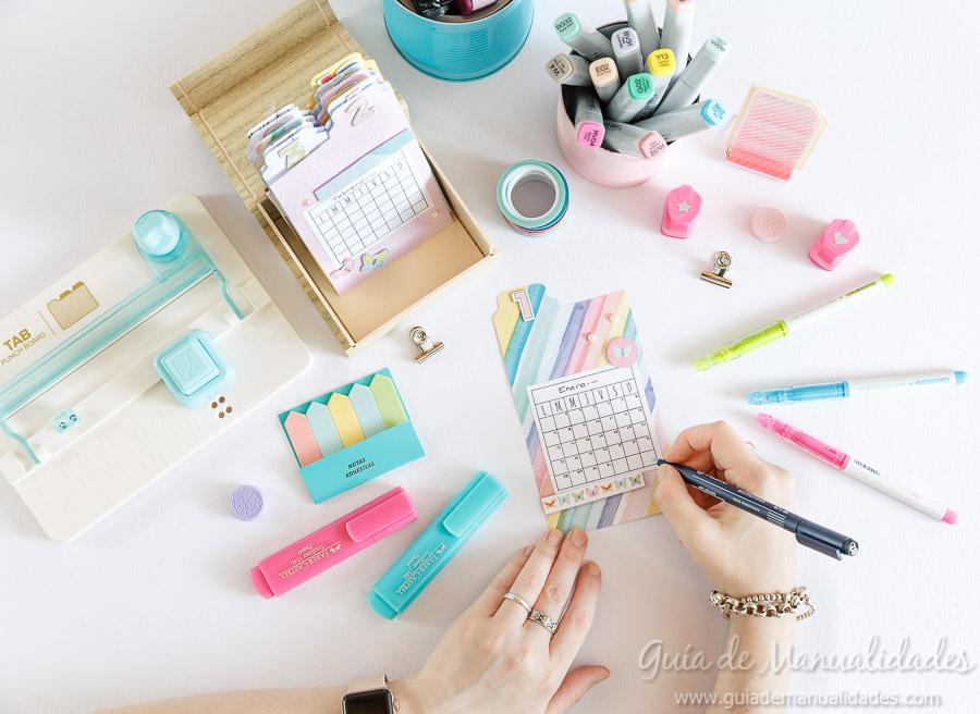 Organizador semanal DIY 13