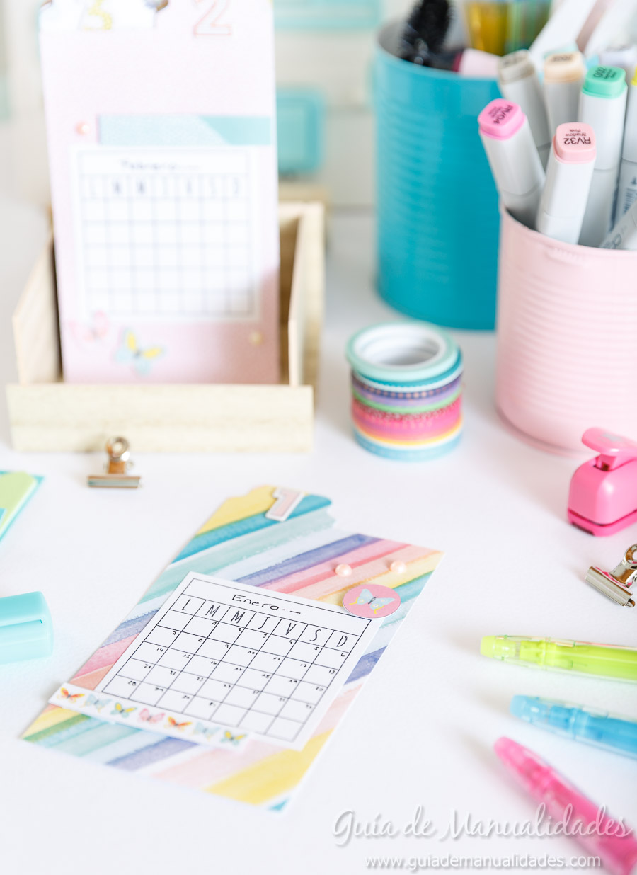 Organizador semanal DIY 15