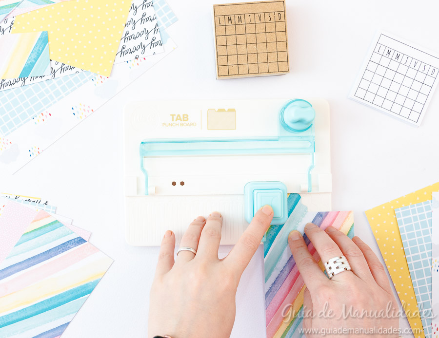 Organizador semanal DIY 7