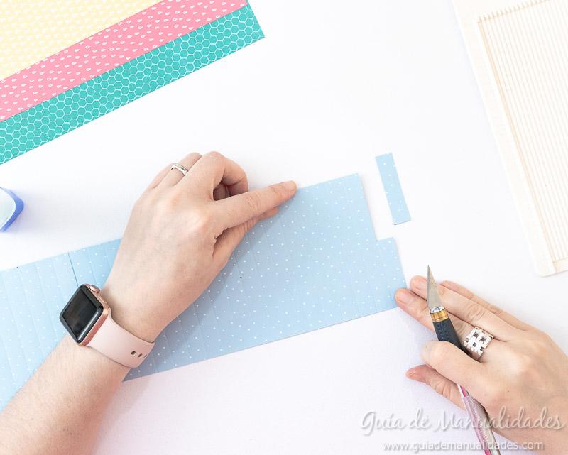Cómo hacer una roseta estrella de papel 10