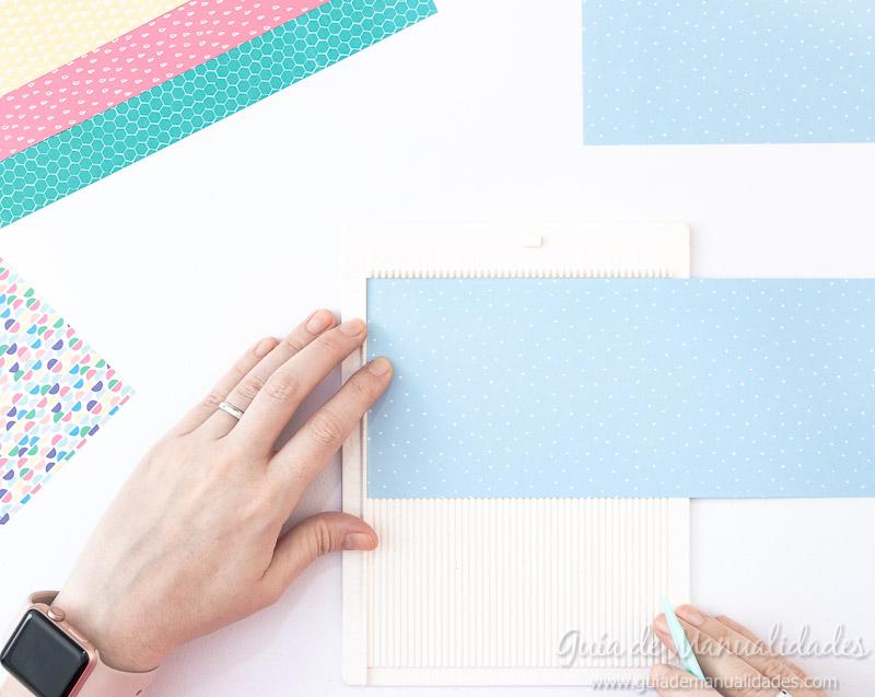Cómo hacer una roseta estrella de papel 5