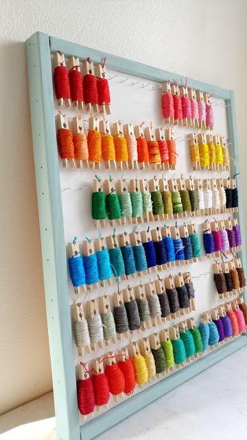 Ideas organización craftroom 7