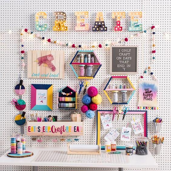 Ideas organización craftroom 9