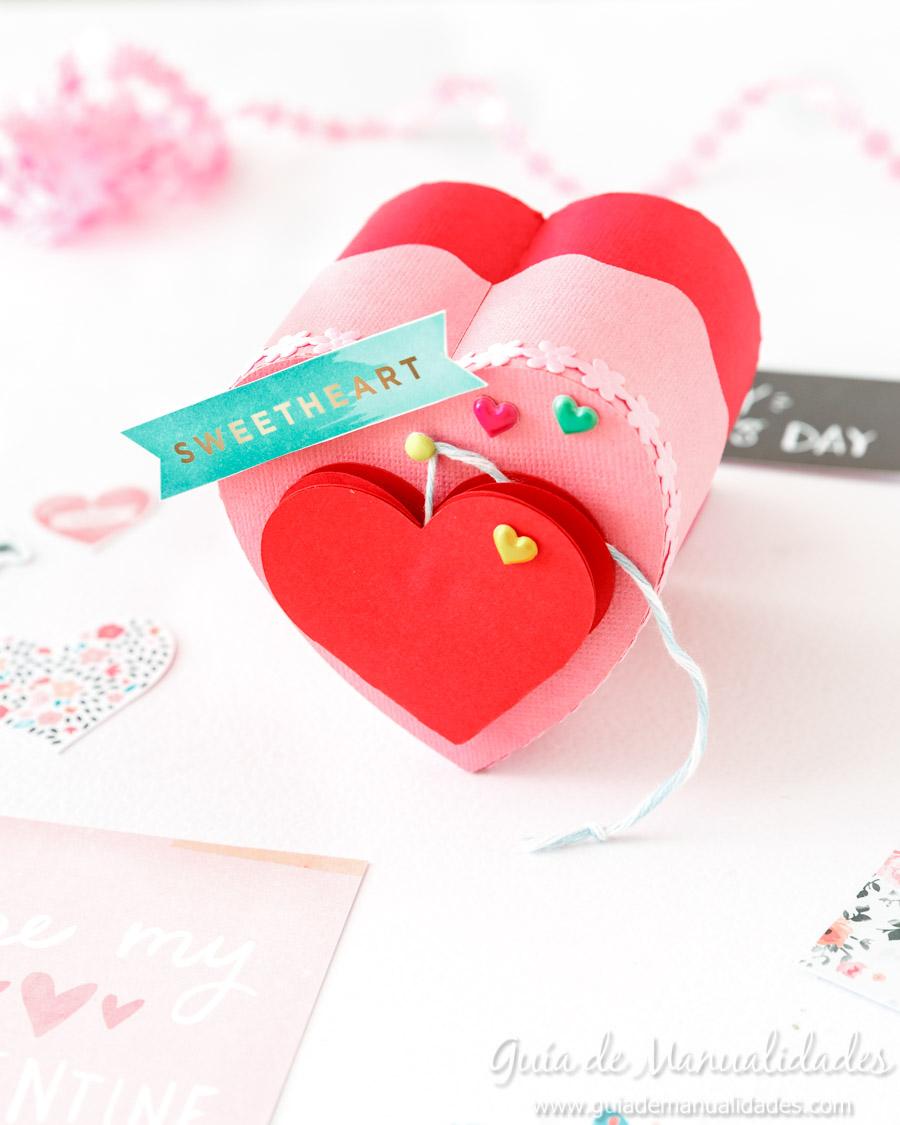 Cajita corazón DIY 1