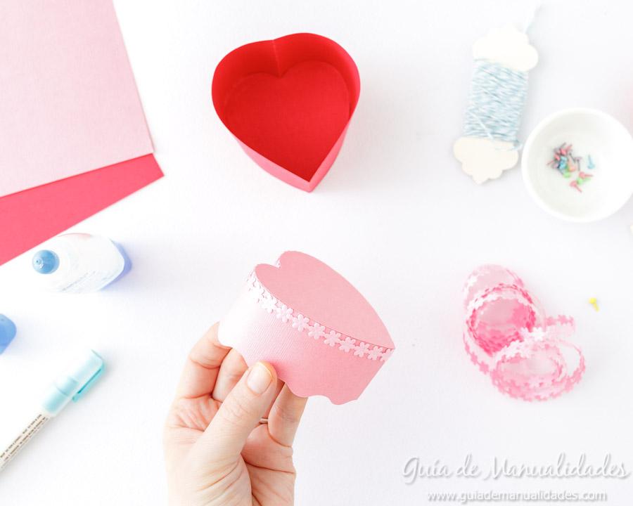 Cajita corazón DIY 10