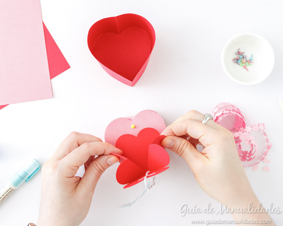 Cajita corazón DIY 11