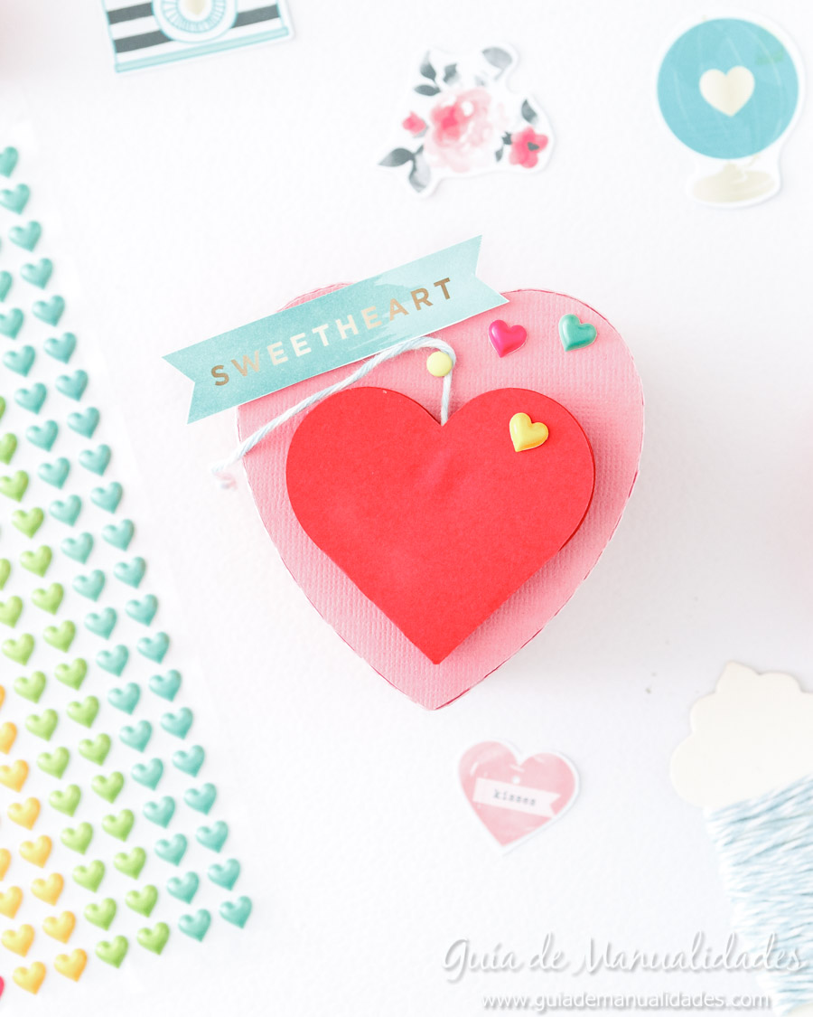 Cajita corazón DIY 12