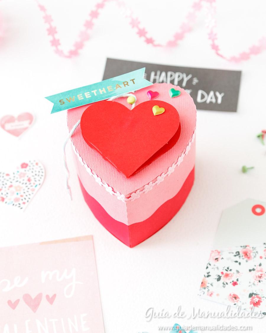 Cajita corazón DIY 14