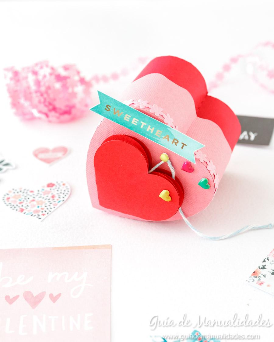 Cajita corazón DIY 15