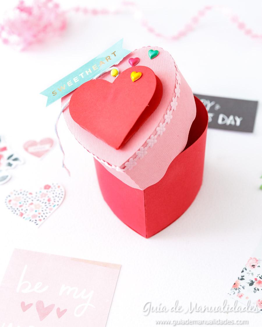 Cajita corazón DIY 16