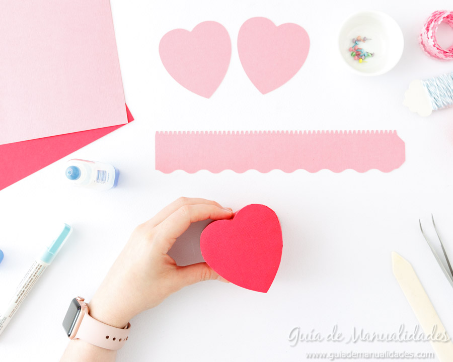 Cajita corazón DIY 4