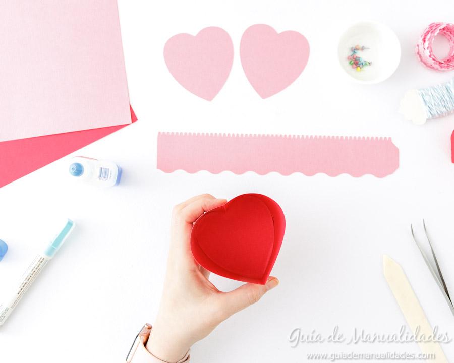 Cajita corazón DIY 5