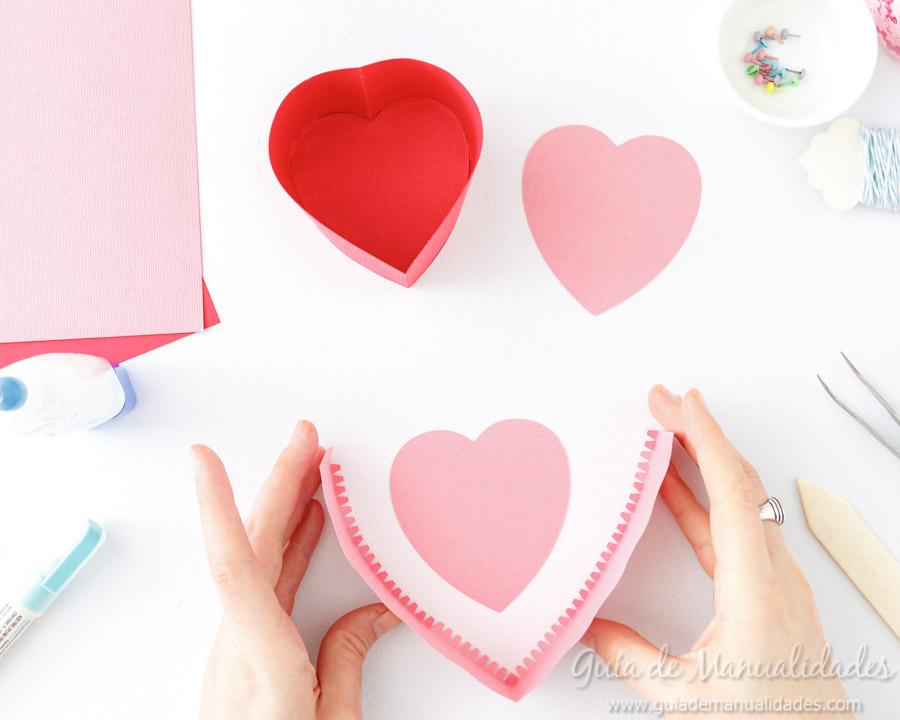 Cajita corazón DIY 6