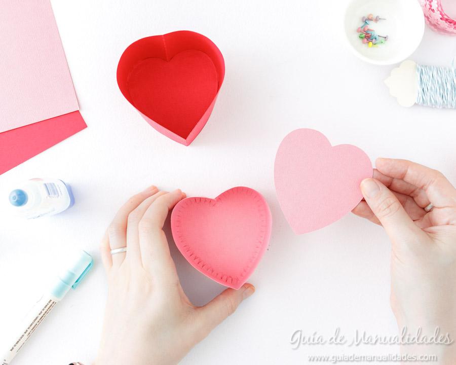 Cajita corazón DIY 8